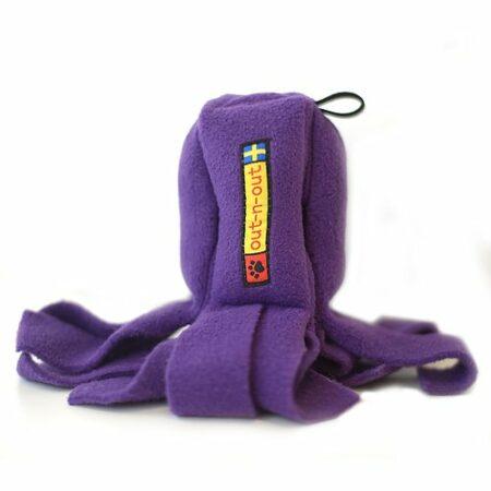 Cookie Squid Fleece lila